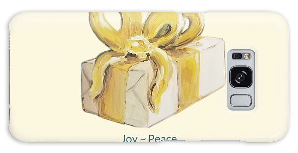 Joy, Peace And Presents Galaxy Case