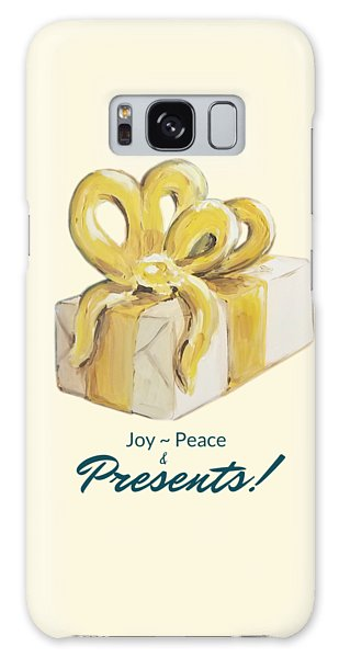 Joy, Peace And Presents Galaxy Case