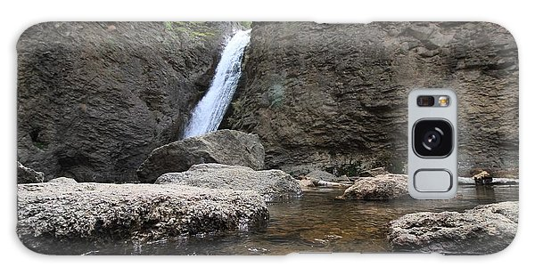 Jump Creek Falls Galaxy Case