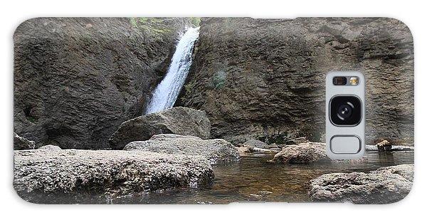 Jump Creek Falls Galaxy Case