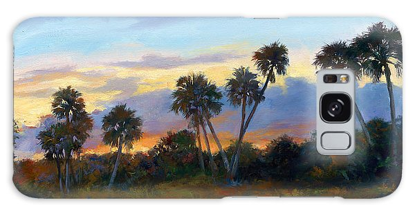 Old Florida Galaxy Case - Jupiter Sunrise by Laurie Snow Hein