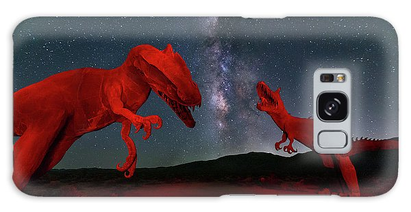 Galaxy Case featuring the photograph Jurassic by Tassanee Angiolillo