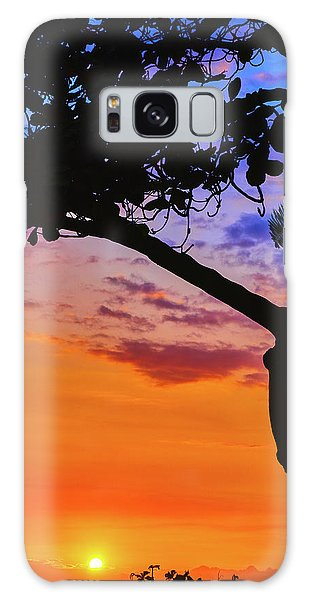 Just Another Kona Sunset Galaxy Case