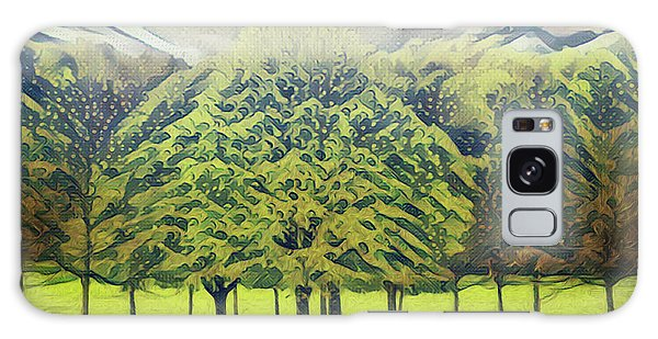 Galaxy Case featuring the photograph Just Trees by Leigh Kemp