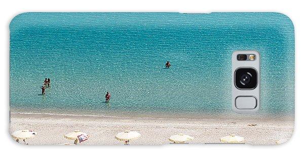 Travel Destinations Galaxy Case - Kallithea Sunny Beach And Summer Resort by Ververidis Vasilis