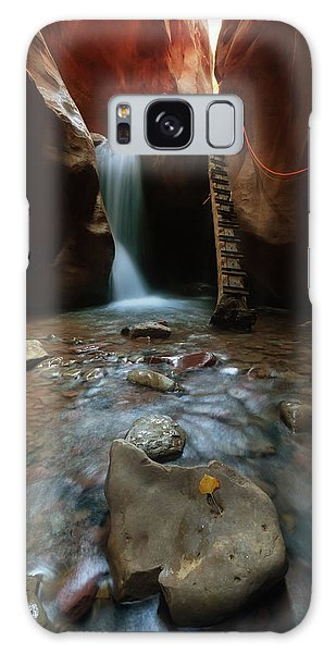 Galaxy Case featuring the photograph Kanarraville Falls by Tassanee Angiolillo
