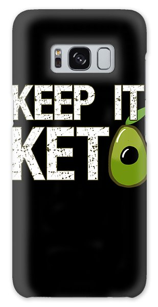 Keep It Keto Galaxy Case
