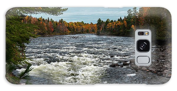 Galaxy Case featuring the photograph Kennebec River by Rick Hartigan