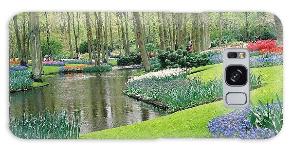 Keukenhof Gardens Galaxy Case