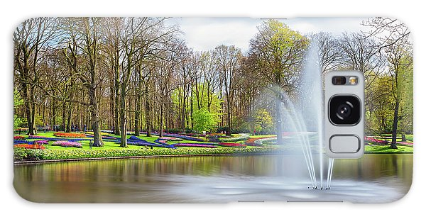 Galaxy Case featuring the photograph Keukenhof Tulip Garden Holland by Nathan Bush