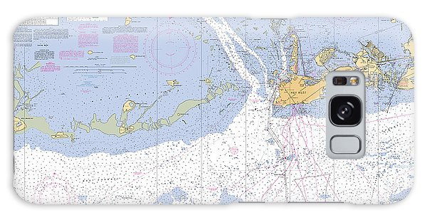 Key West Harbor And Approaches, Noaa Chart 11441 Galaxy Case