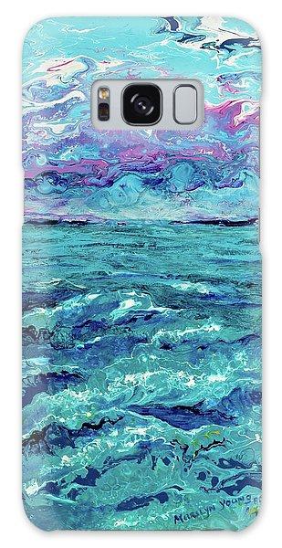 Keys Seascape Galaxy Case