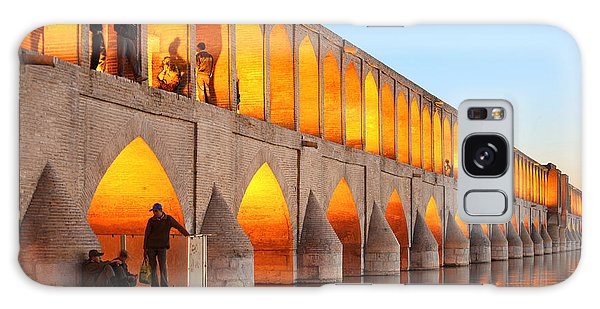 Spirituality Galaxy Case - Khajoo Bridge Over Zayandeh River At by Vladimir Melnik