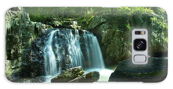Kilgore Falls In Summer Galaxy Case