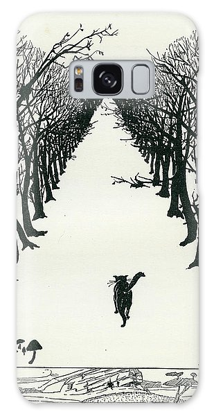 The Cat That Walked By Himself Galaxy Case
