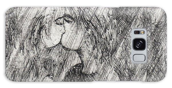 Galaxy Case - Kiss In The Rain by Rachel Christine Nowicki