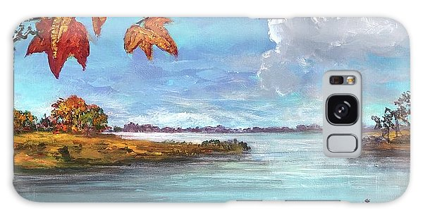 Kites, Clouds And Sailboats Galaxy Case