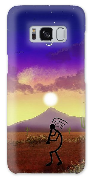 Kokopelli Dream World Galaxy Case