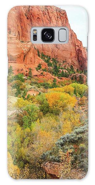 Kolob Canyon 2, Zion National Park Galaxy Case