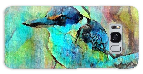 Kookaburra Blues Galaxy Case