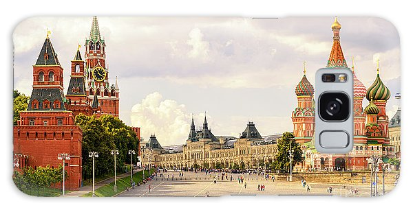 Historical Galaxy Case - Kremlin And St Basils Cathedral On The by Viacheslav Lopatin