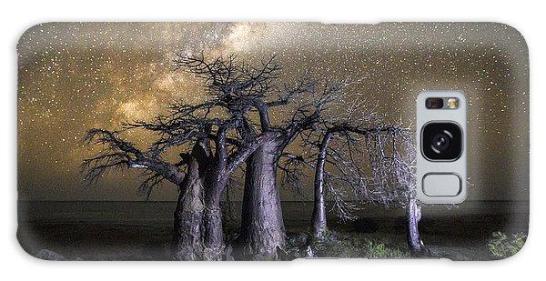 Dusk Galaxy Case - Kubu Island In Botswana by 2630ben
