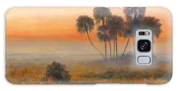 Old Florida Galaxy Case - La Belle Sunrise by Laurie Snow Hein
