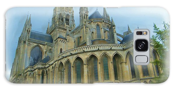 La Cathedrale De Bayeux Galaxy Case