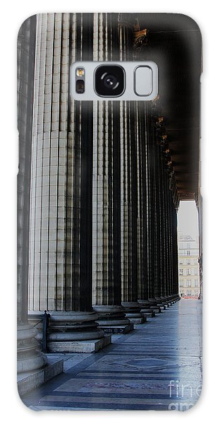 Galaxy Case featuring the photograph La Colonnade De La Madeleine by Rick Locke