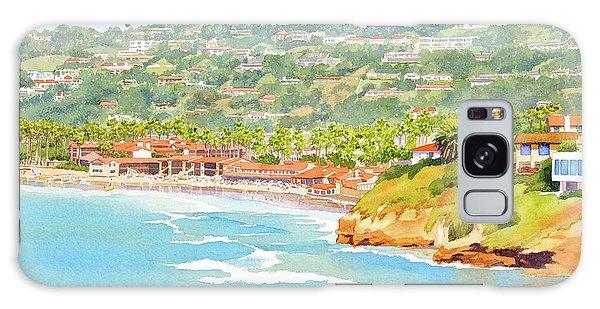 La Jolla Shores From Coast Walk Galaxy Case