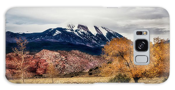 Galaxy Case featuring the photograph La Sal Mountain Range by David Morefield