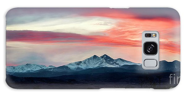 Ladies In The Sky Winter Sunset Galaxy Case