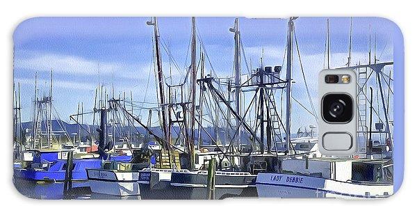 Port Of Ilwaco Galaxy Case