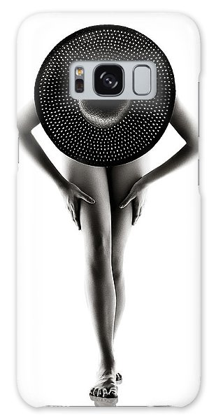 Erotic Galaxy Case - Lady With A Hat by Johan Swanepoel