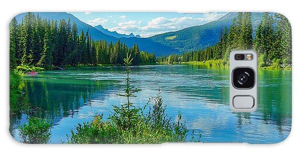 Lake At Banff Indian Trading Post Galaxy Case