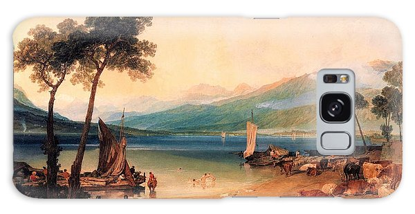Lake Geneva Galaxy Case - Lake Leman And Mont Blanc - Digital Remastered Edition by William Turner