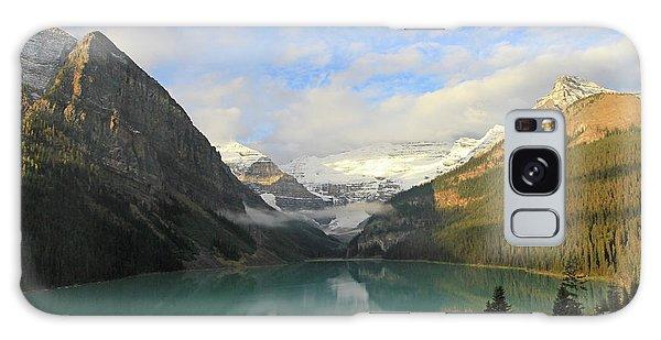 Lake Louise At Dawn Galaxy Case