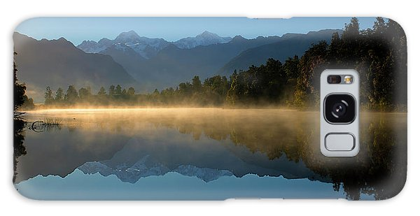 Lake Matheson Morning Galaxy Case