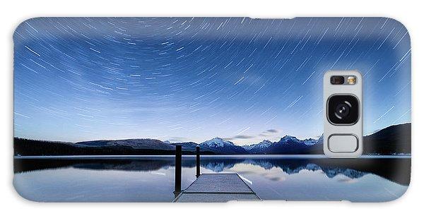 Lake Mcdonald Trails Galaxy Case