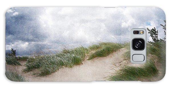 Lake Michigan Sand Dunes Galaxy Case