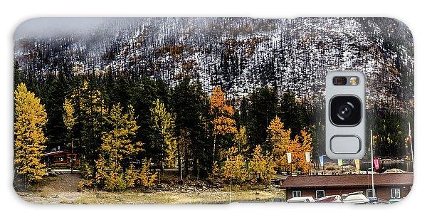 Lake Minnewanka, Banff National Park, Alberta, Canada Galaxy Case