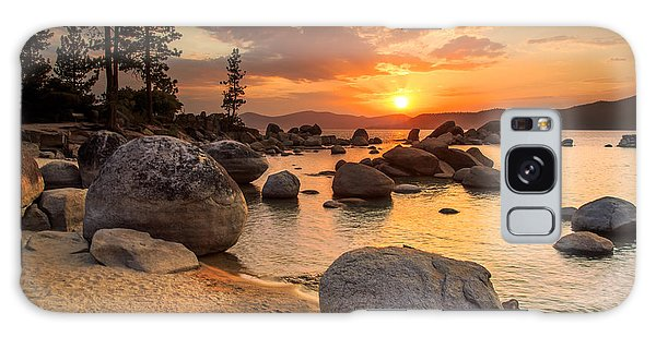 Scenery Galaxy Case - Lake Tahoe At Sunset by Topseller
