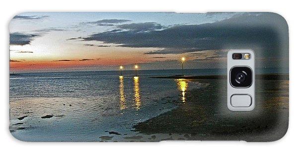 Lancashire. Knott End. Sunset.. Galaxy Case
