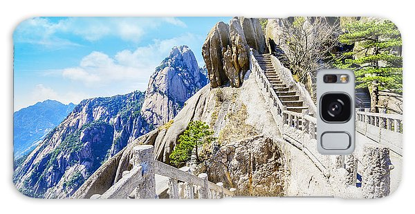 Scenery Galaxy Case - Landscape Of Huangshan Yellow by Aphotostory