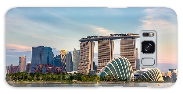 Marina Galaxy Case - Landscape Of The Singapore Financial by Anek.soowannaphoom