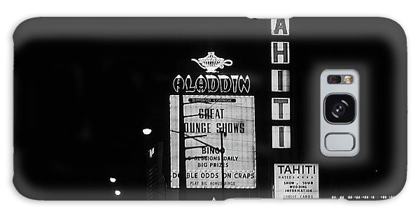 Galaxy Case - Las Vegas 1984 Bw #4 by Frank Romeo