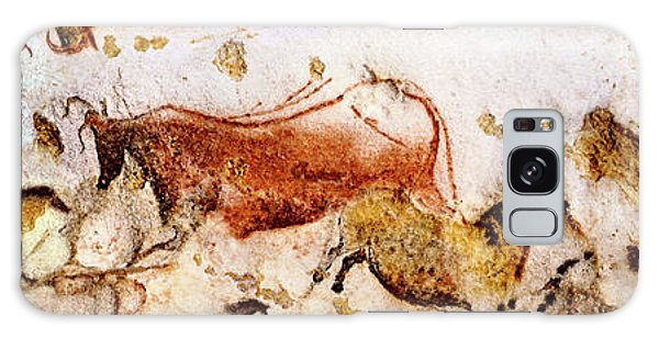 Lascaux Cows Horses And Deer Galaxy Case