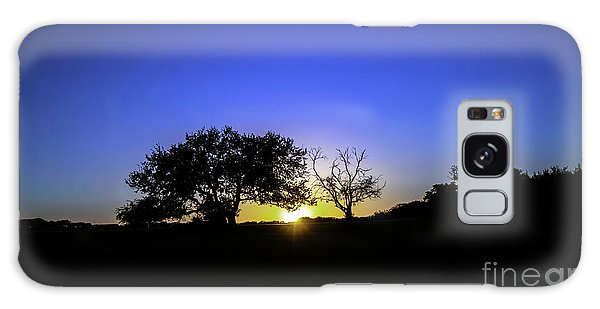 Last Light Texas Hill Country Paradise Canyon Sunset 8053a Galaxy Case