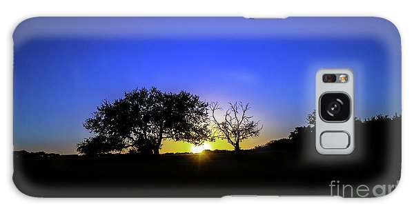 Last Light Texas Hill Country Paradise Canyon Sunset 8053a1 Galaxy Case
