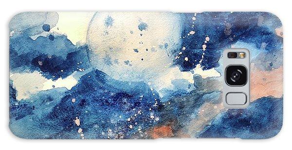 Last Nights Magic Moon Galaxy Case